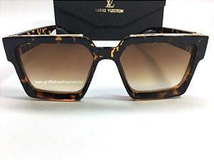 Óculos de Louis Vuitton Millionaires 96006   Armação Tartaruga