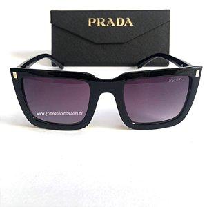 Óculos de Sol Prada Quadrado - Lente Preto Degrade