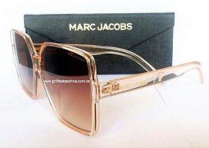 Óculos de sol Marc Jacobs  Oversized  Bege Quadrado