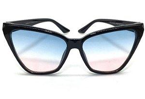 Óculos de Sol Gatinho  Betty - Armação Preto