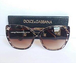 Dolce  Gabbana Gatinho  Óculos de Sol Havana