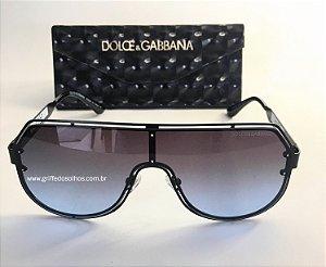 Óculos de Sol Dolce &Gabbana Azul Degrade  DG2231  Aviador - Modelo Masculino e Feminino