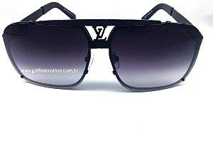 Louis Vuitton Óculos de Sol Masculino - Mascara Preto