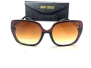 Jimmy Choo Charis Óculos de Sol Marrom Feminino