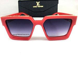 Oculos de Sol Louis Vuitton Millionaires Vermelho 1.1 Millionaires