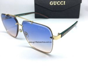 Oculos de Sol  Gucci Metal / Unissex