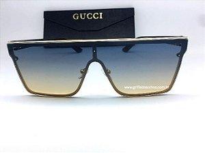Óculos Gucci Elite Quadrado Gradiente - Óculos de Sol