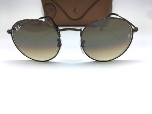 Óculos de Sol Ray Ban RB3447  Round Flash Lenses / Bronze