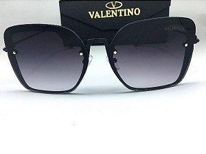 Oculos de Sol Valentino Quadrado Feminino / Preto