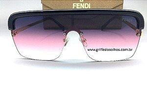 Oculos Quadrado Fendi - Modelo Mascara Unissex
