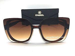 Óculos de Sol Chanel  Quadrado Feminino Clássico