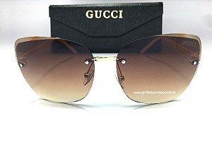 Oculos Gucci Feminino  Sem Aro