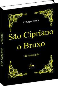 Livro de São Cipriano O Bruxo Capa Preta