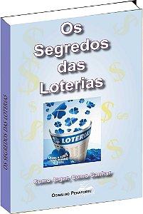 Livro Os Segredos das Loterias