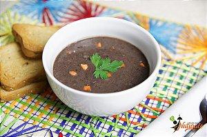 SC12 - Caldo Carioca: feijão preto com cenoura e carne de acém em cubos