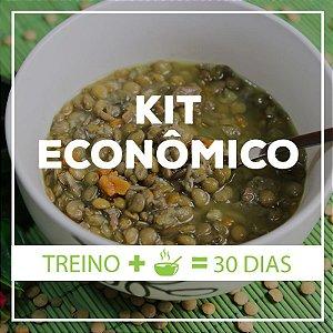 KIT ECONOMICO (30 dias) : para quem quer economizar e busca uma alimentação saudável e prática.