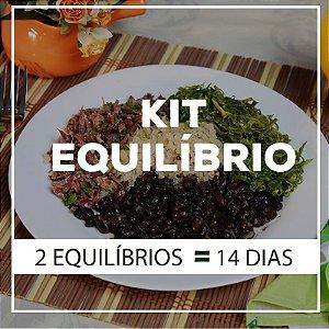 KIT Equilibrio 14 dias - 28 Marmitas Nutritivas e Saudáveis