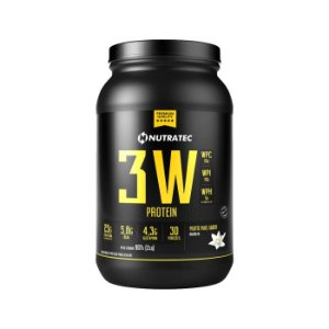 Whey Protein 3W (900g) - Nutratec
