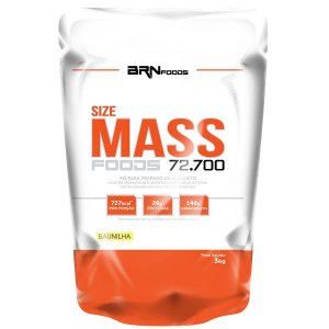 Hipercalórico Size Mass (3kg) - BRN Foods