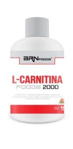 L-Carnitina 2000mg (480ml) Pêssego - BRN FOODS