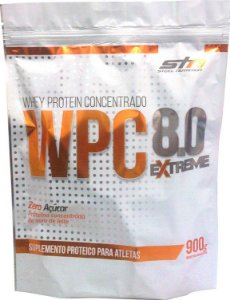 Whey Protein Concentrado 8.0 Extreme (900g) Refil - STN Nutrition