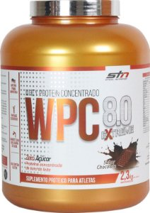 Whey Protein Concentrado 8.0 Extreme (2.3kg) Pote - STN Nutrition