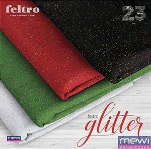 Feltro Mewi Glitter