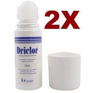 Driclor 75ml - Pack  2 Unidades