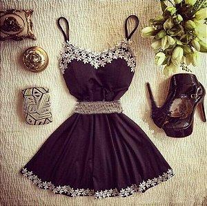 Vestido Plus Marinho