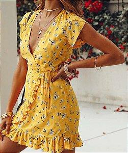 Vestido Yellow Pixel