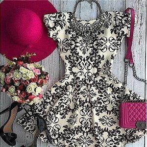 Lindo Vestido De Verão Trabalhado Casual Social Dia a dia