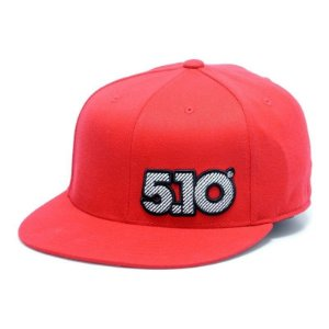 Boné Fit Trucker 5.10 - Red