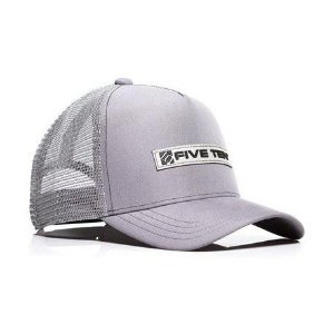 Boné D Trucker - Neutral Grey / Black