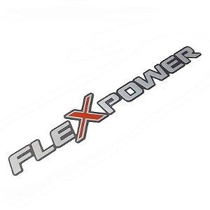 Emblema FleXpower Emblemas Peças Genuínas GM Chevrolet Corsa Novo de 2006 em diante 93344997