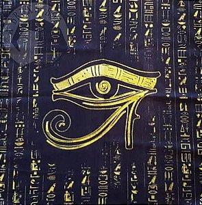 Toalha Olho de Hórus (Altar/ Tarot/ Leitura de Oráculos)