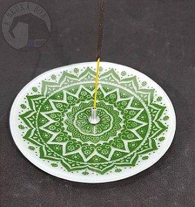 Incensário Mandala - Verde