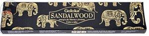 Incenso Goloka - Sandalwood - Energia da Vitória e Fortuna