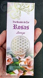 Incenso Purificador do Lar - Rosas - Leveza