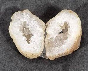 Geodo Gêmeo de Ágata - 50g