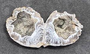 Geodo Gêmeo de Ágata - 39g