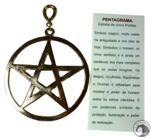 Pingente de Parede Pentagrama
