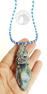 Amuleto - Cianita Azul ou Espada de São Miguel