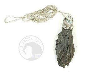 Amuleto Vassoura de Bruxa