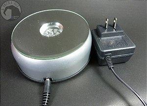 Base Giratória com Luz - 110V