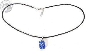 Colar - Pingente Lápis Lazuli