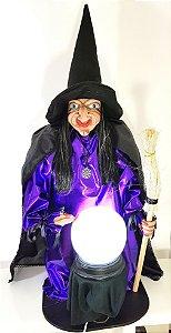 Bruxa Rhelga - Guardiã da Vassoura Mágica (apenas para retirada)