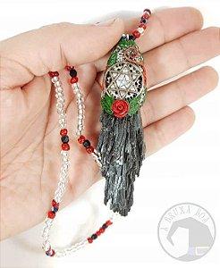 Amuleto - Vassoura de Bruxa