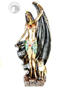 Cleópatra com Bastet
