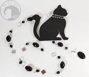 Fio de Luz - Gato preto