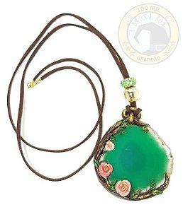 Amuleto Ágata Verde